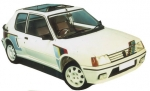 Widebody-Kit Peugeot 205