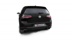 REMUS 2-Rohr CatBack Abgasanlage VW Golf 7 GTI 220/230/265 Clubsport incl Facelift und incl Endrohre