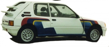 Widebody-Kit für Peugeot 205