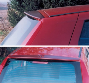 Dachspoiler in Abarth Optik für Fiat Punto II+III