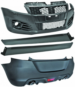 Bodykit in Sport Optik für Suzuki Swift FZ/NZ 10-13